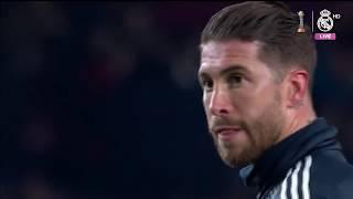 EL CLÁSICO | Barcelona 1-1 Real Madrid warm-up