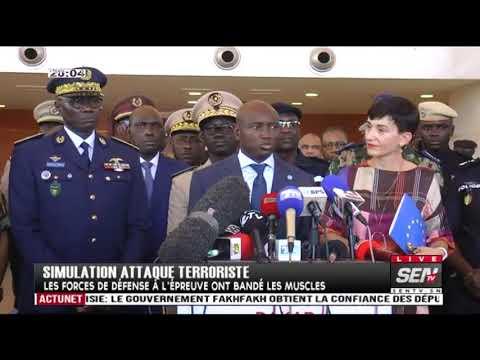 Simulation d'attaque terroriste au Grand Théâtre ...