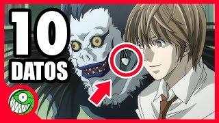 El SECRETO que NADIE SABE sobre el GUIONISTA de DEATH NOTE | 10 curiosidades de Death Note (Anime)