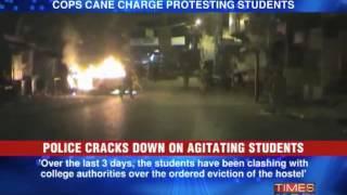 Violence rocks Allahabad University