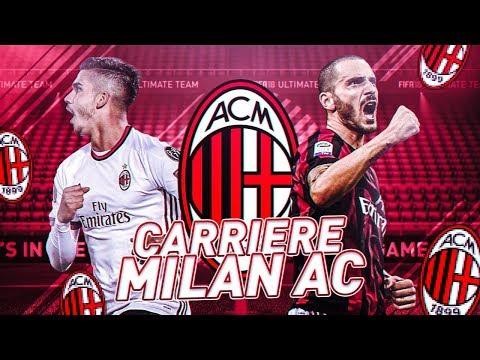 02 FIFA 18 - CARRIÈRE | MILAN AC #01 | ON RECRUTE UN GROS JOUEURS D'ENTRÉE !!
