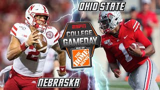 PREDICTIONS & PREVIEW Nebraska vs Ohio State College GameDay Week 5 Husker B1G Football 2019