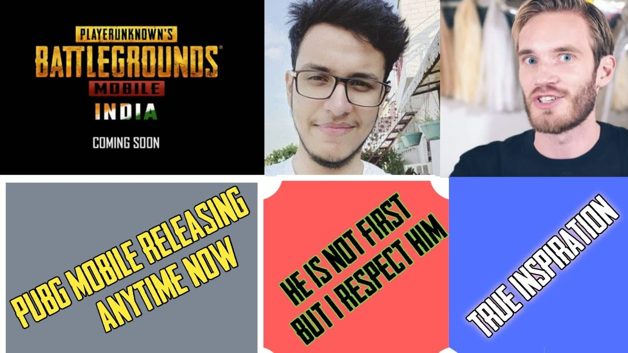 Pubg Mobile India Release Date ll Triggered Insaan Huge Respect 4 you ll Pewdiepie True Inspiration