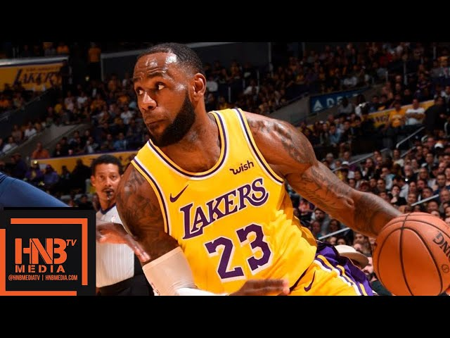 Los Angeles Lakers vs Denver Nuggets Full Game Highlights | 02.10.2018, NBA Preseason