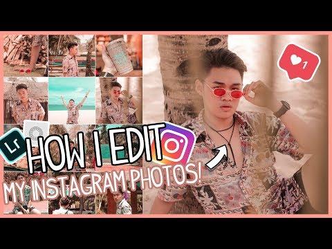HOW I EDIT MY INSTAGRAM PHOTOS! (Pink, Bronze Feed) | Philippines | Cedrix Eligio