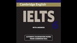CAMBRIDGE IELTS 6 listening test 2 full