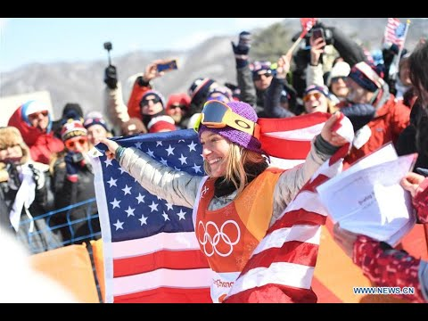 Anderson defends women's slopestyle title at PyeongChang Winter Olympics - Xinhua