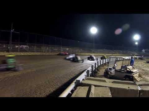 NEWS flip at New Egypt Speedway