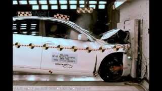 2010 Toyota Camry | Frontal Crash Test | CrashNet1