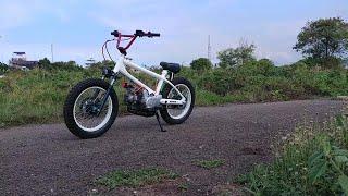 BMX CUB with the Honda C70 engine