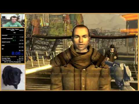 Fallout NV Any% Speedrun In 15:51