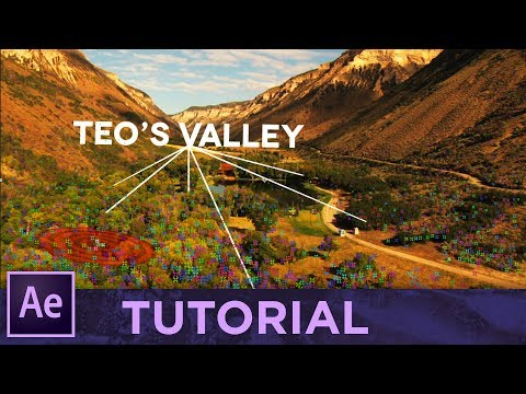 3D TRACKING LINES • Adobe After Effects Tutorial