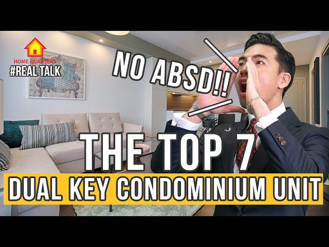 Singapore Top 7 Dual Key Condominium Unit you can buy New!! [No ABSD] | Real Talk Ep 35