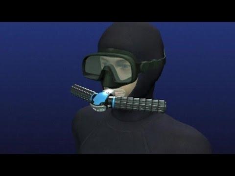 Дыхательный аппарат Тритон: Triton Дыши под водой как рыба