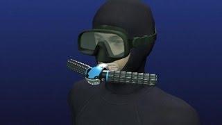 видео Дыхательные аппараты на сжатом кислороде: Респиратор Р-30