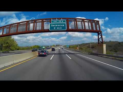 On the Job: Howell to NYC- New Jersey Turnpike- Exit 13 to 16E