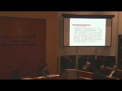 Legislation and Adjudication of Juvenile crimes in China (30th October 2015) 2/2