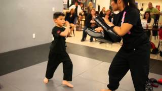Martial Arts Belt Test for 5 year old - Las Vegas Kung Fu Academy