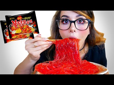 EXTREME SPICY NOODLE CHALLENGE