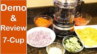 KitchenAid 7 Cup Food Processor Review Demo