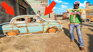 I FOUND THEM HIDING in the NUKETOWN CAR GLITCH SPOT!? HIDE N' SEEK ON COLD WAR