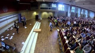 Flash mob UE Katowice