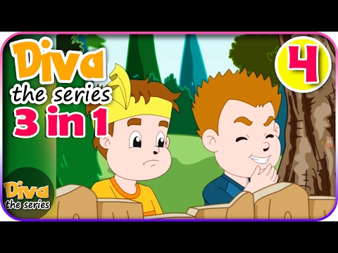 Seri Diva 3 in 1 | Kompilasi 3 Episode ~ Bagian 4 | Diva The Series Official