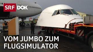 Jumbo-Pilot im Simulator
