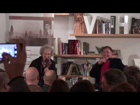 Margaret Atwood in Prague (18. 10. 2017)