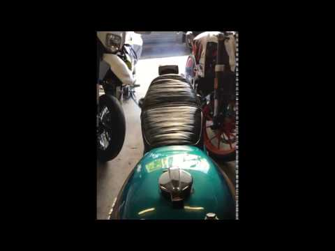 CB450 K3 Exhaust Smoke