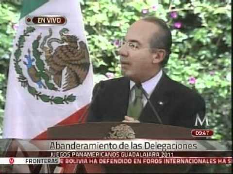 """Felipe Calderón exhorta a deportistas a sacar el """"FUA"""" en Panamericanos"""