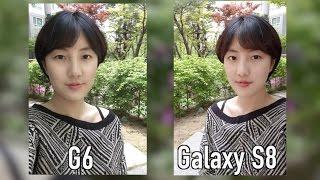 [ENG SUB] 갤럭시 S8 vs. LG G6 카메라 테스트 (SAMSUNG Galaxy S8 vs.LG G6 Camera Test)