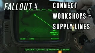 Fallout 4 - how to connect workshops and share resources with a sup...