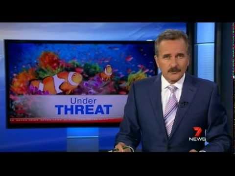 Larissa on 7 news: Great Barrier Reef under threat