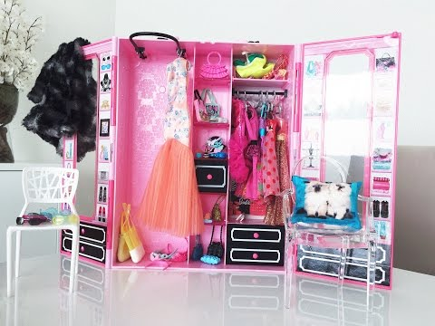 Closet ou Guarda-roupa da Barbie - Por Mikaela&Sofhia