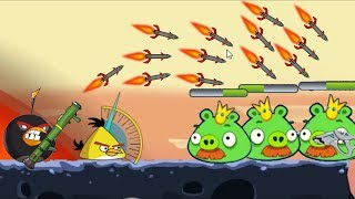 Angry Birds Ultimate Battle 3 - FINAL BATTLE BOMBER DEFEAT ALL KING PIG!