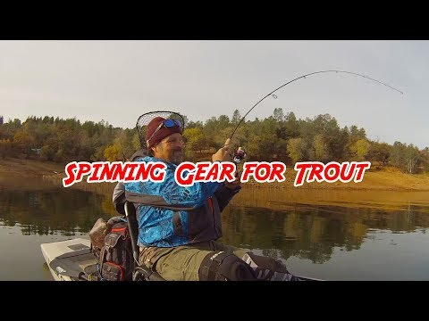 Spinning Gear For Trout