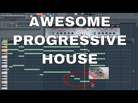 How to make SIMPLE Progressive House chords sound AWESOME and how to add melody and bass + Preset