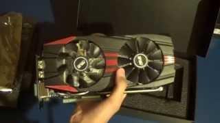 распаковка и обзор видеокарты AMD ATI Radeon R9 290 / Asus R9290-DC2-4GD5
