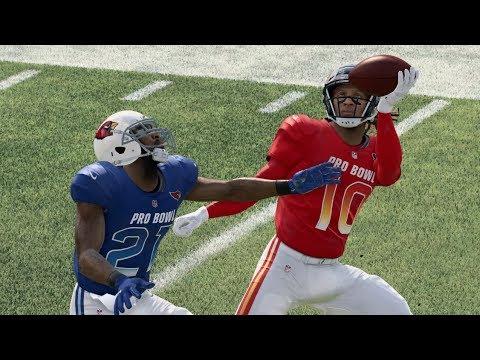 Madden 20 Gameplay AFC Vs NFC NFL Pro Bowl Full Game (Madden NFL 20 Gameplay)