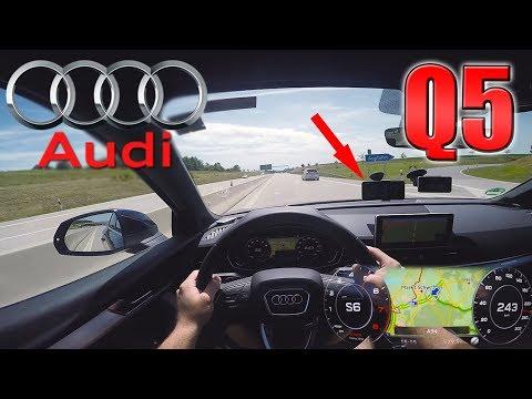 2017 Audi Q5 2.0 TFSI (0-240km/h) POV- TOP SPEED, Acceleration TEST✔