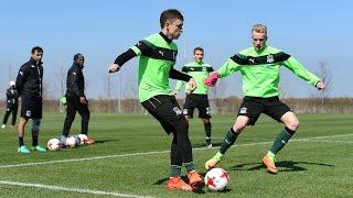 Черно зеленые готовятся к матчу с «Ростовом»
