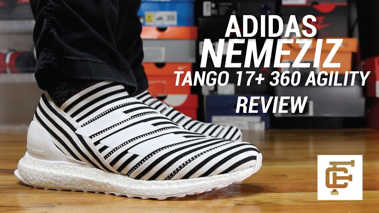 08ac05e43d308 ADIDAS NEMEZIZ TANGO 17+ ULTRA BOOST REVIEW - YouTube