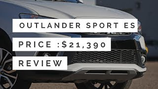 #9 Cheapest New Crossovers and SUVs of 2018 - Mitsubishi Outlander Sport ES Exterior Interior