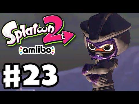 Splatoon 2 - Gameplay Walkthrough Part 23 - Amiibo Squinja Gear! (Nintendo Switch)