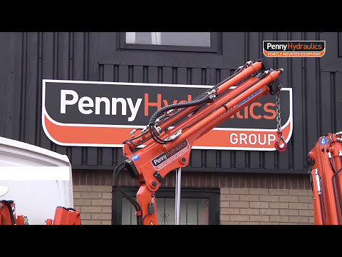 PH Lightweight Hydraulic Truck Cranes