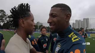 SELEÇÃO OLÍMPICA treina no CT do PALMEIRAS para amistosos em SÃO PAULO