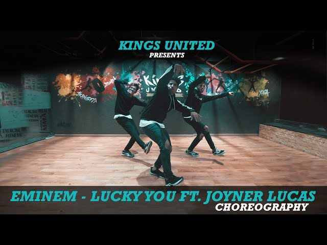 Eminem   Lucky You ft  Joyner Lucas | Urban Dance Choreography | Kings United |