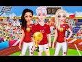 Frozen Soccer Worldcup 2018 (Принцы и Принцессы Диснея на Чемпионате мира по футболу 2018)