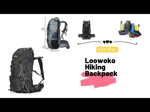 Loowoko Hiking Backpack review